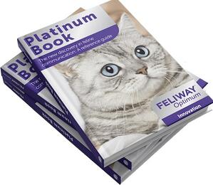 Feliway Optimum platinum book